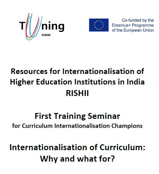 First Training Seminar