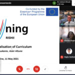 The first Training Seminar for Curriculum Internationalisation Champions of the RISHII project took place last 11th May with around 90 participants.